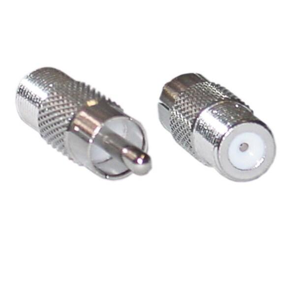 Offex F-Pin (Coax) Female / RCA Male Adaptor
