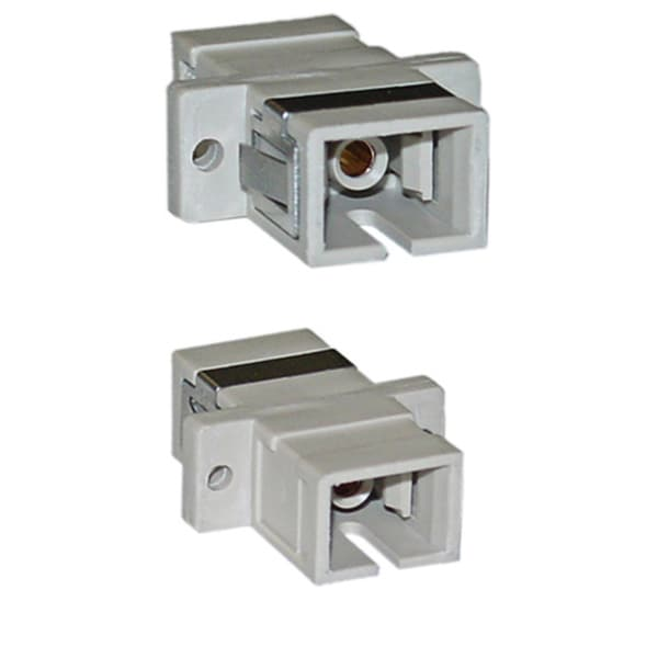 Offex SC / SC Multimode Simplex Plastic Housing Fiber Coupler