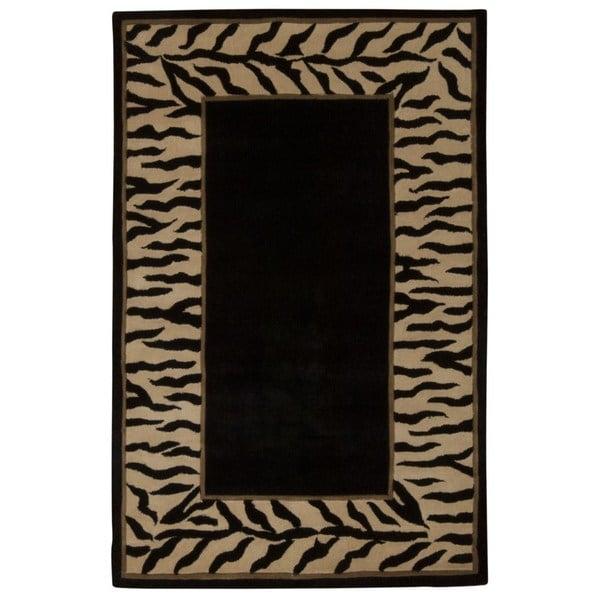 Nourison Dimensions Black Rug (1'9 x 2'9)