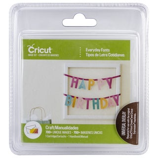 Cricut Cartridge Everyday Fonts