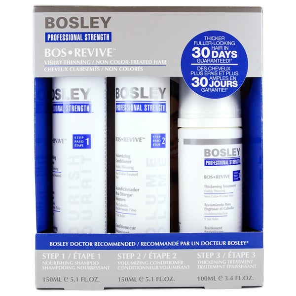 Bosley Revive 3-piece Starter Pack 12731506