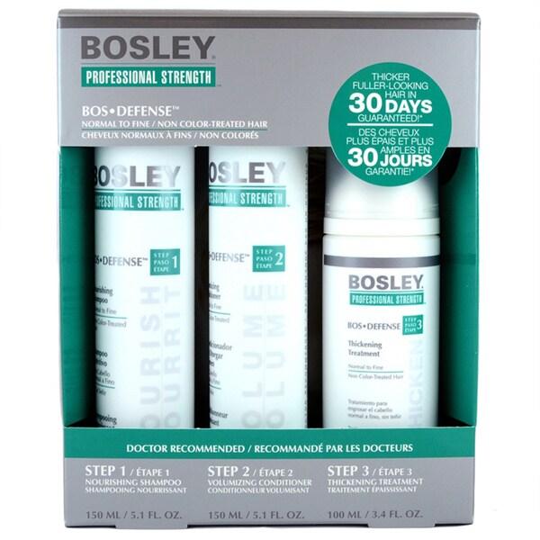 Bosley Defense 3-piece Starter Pack 12731507