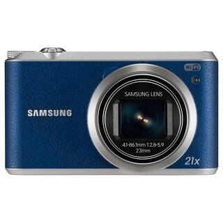 Samsung WB350F 16.3 Megapixel Compact Camera - Blue