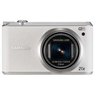 Samsung WB350F 16.3 Megapixel Compact Camera - White (Refurbished)