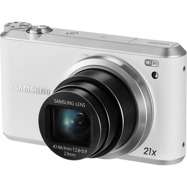 Samsung WB350F 16.3 Megapixel Compact Camera - White