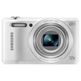 Samsung WB35F 16.2 Megapixel Compact Camera - White