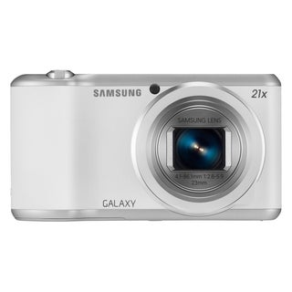 Samsung Galaxy EK-GC200 16.3 Megapixel Compact Camera - White