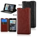 BasAcc Wallet Leather with Card Slot stand Case for LG Optimus F6 D500 / MS500