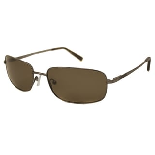 Nautica Men's N5089S Polarized/ Rectangular Sunglasses