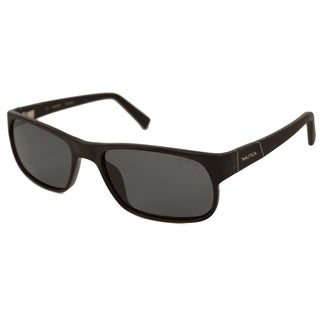 Nautica Men's/ Unisex N6152S Polarized/ Rectangular Sunglasses