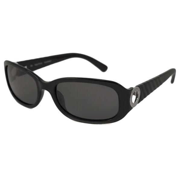 Nautica Women's N6143S Polarized/ Rectangular Sunglasses