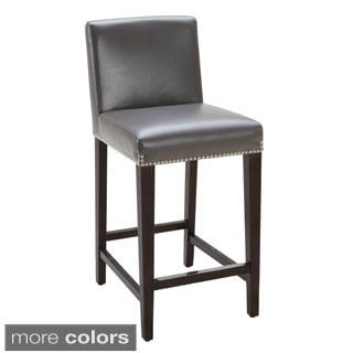 Brooke Espresso Finish Counter Stool
