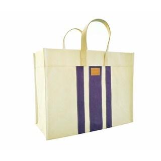 Color Dunes Classic Orchid Stripe Tote Bag