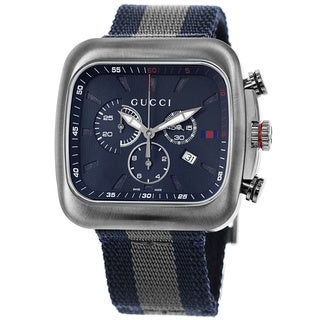 Gucci Men's 'Coupe Modern Interpretations' Analog Watch