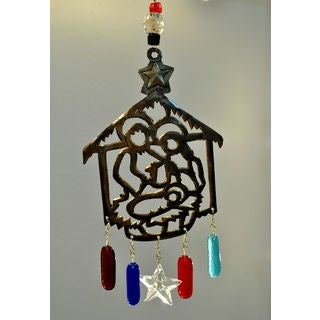 Handmade 'O Holy Night' Wind Chime (India)