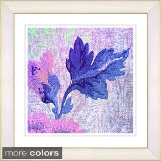 Zhee Singer 'Kekoo's Acorn Floral' Framed Fine Art Print