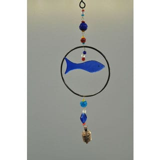 Single Bubble Fish Wind Chime (India)