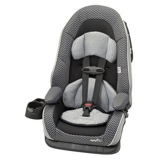 Evenflo Chase LX Booster Car Seat in Grey Chevron