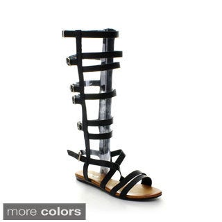 Refresh Women's ONGEE-05 Gladiator Sandals