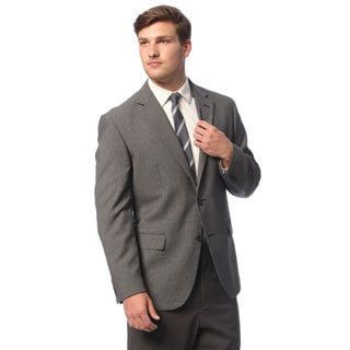 Geoffrey Beene Men's Black and White Check Sportcoat