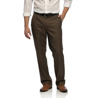 Geoffrey Beene Men's Brown Sharkskin Suit Separate Pants