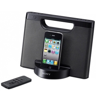 Sony RDP-M5IPBLK iPod? / iPhone? Speaker Dock (Refurbished)