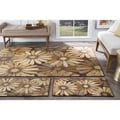 Rhythm 105350 Multicolor 3-piece Rug Set Contemporary Area Rug