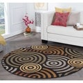 Rhythm 105360 Multi Contemporary Area Rug (7' 10 Round)