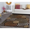 Rhythm 105360 Multi Contemporary Area Rug (7'10 x 10' 3)