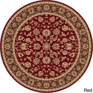 Rhythm 105370 Traditional Area Rug (7''10 Round)