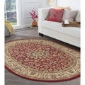 Rhythm 105390 Transitional Area Rug (5' 3 x 7' 3 Oval)