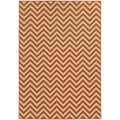 Abstract Ikat Hand-made Ivory/ Beige Rug (3'6 x 5'6)
