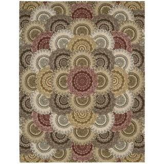 Nourison Nourison Hand-tufted 2000 Floral Multicolor Area Rug (9'9 x 13'9)