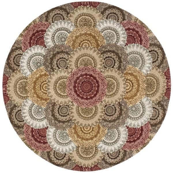 Nourison 2000 Multicolor Rug (8' x 8' Round)