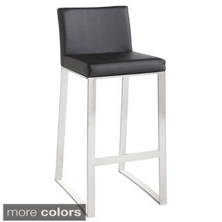 Sunpan Architect White Bar Stool