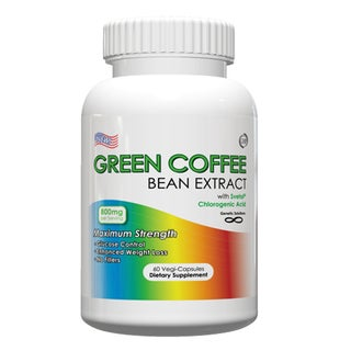 Green Coffee Bean 800mg Extract with Svetol (60 Capsules)