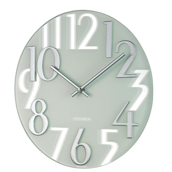 Hans Andersen Home Mirrored Numbers Wall Clock