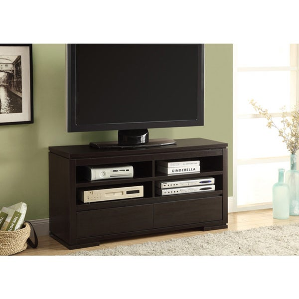 Cappuccino 2-drawer 48-inch TV Console