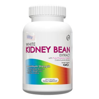 White Kidney Bean Extract 1000mg Carb Blocker and Appetite Suppressant (200 Capsules)