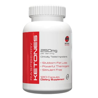 Raspberry Ketones 250mg 100-percent Natural Weight Loss Supplement (120 Capsules)