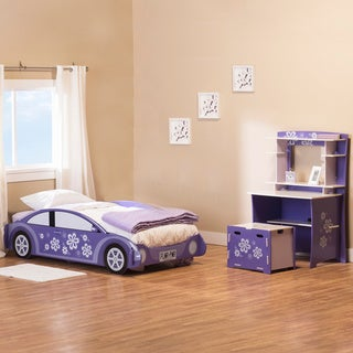 Legare Flower Power Purple 3-piece Bedroom Set