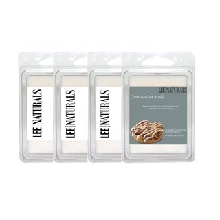 Cinnamon Buns 6-piece Soy Clamshell Tart Burner Melts Pack (Set of 4)