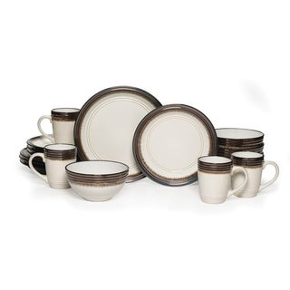 Mikasa Gourmet Basics 'Bailey' 16-piece Dinnerware Set