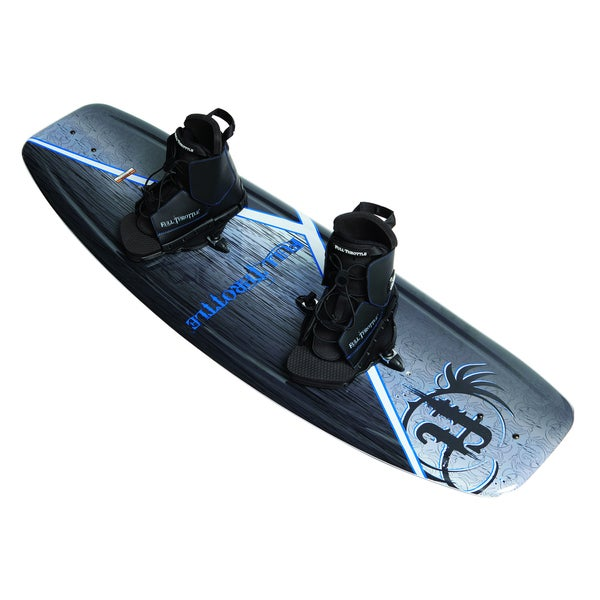 Full Throttle Aqua Extreme Wakeboard with Boots 12737119