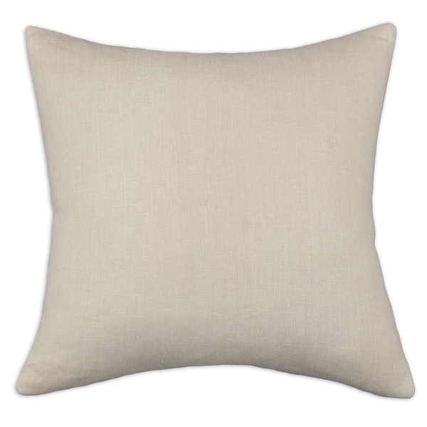 Somette Circa Solid Barley Decorative Throw Pillow