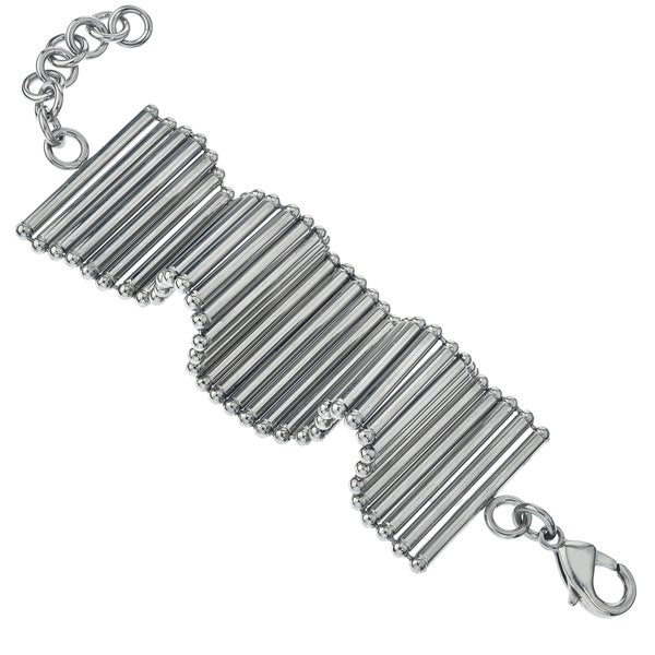 Stainless Steel Flexible Tube Bracelet