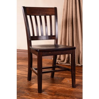 Library Wooden Side Chairs (Set of 2)