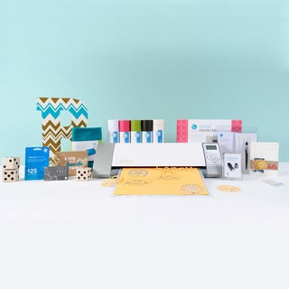 Silhouette Cameo Die Cutting Machine + Vinyl Starter Kit Bundle + $25 Card + One Month Subscription