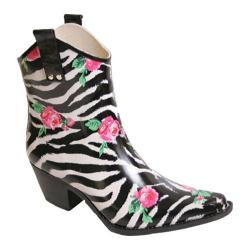 Women's Nomad Yippy Low Rose Zebra