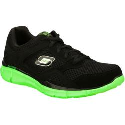 Men's Skechers Equalizer Black/Green